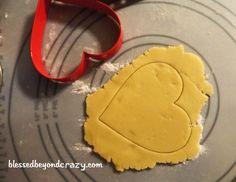 Gluten Free Old Fashioned Valentine's Day Sugar Cookies <3