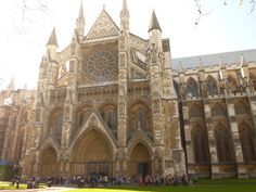 Westminster Abbey - London #travel #england #studyabroad || Blog post about my trip to Westminster: http://wannabegradstudent.tumblr.com/post/12959245937