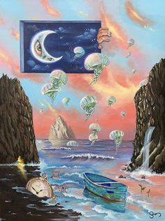 Funky Art, Hippie Art, Ap Art, Surreal Art, Fractal Art, Traditional Art, Love Art, Collage Art, Art Inspo
