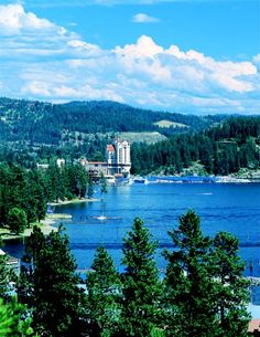 My home area, Coeur d'Alene, Idaho...one of the special reasons we moved here in 2003!!!
