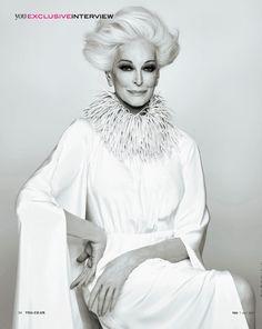 that necklace/collar. >>  Carmen Dell'Orifice at 82