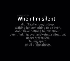 Me...everyday