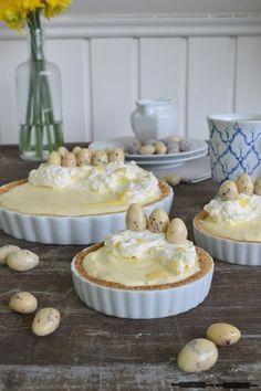 leckere Tarte mit Eierlikörcreme - perfekt für den Osterbrunch oder den Kaffeetisch am Ostersonntag