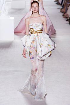 Giambattista Valli Fall 2013 Haute Couture fashion show.
