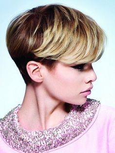 simple short hairstyle by Sassoon Salon
