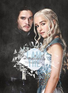 Daenerys Targaryen & Jon Snow - Game of Thrones Fan Art (33910430) - Fanpop
