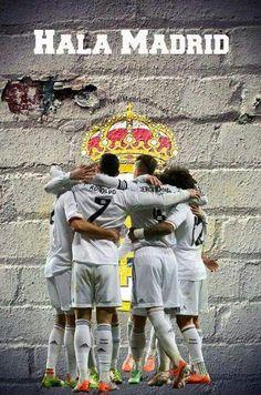 He aprendido que prefiero sufrir por el fútbol que por amor. El mejor equipo del mundo! #HalaMadridYNadaMas