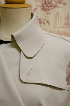 How-to sew a bound button hole (the neatest, nicest, classiest type)