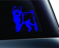 Akita Dog Symbol Decal Funny Car Truck Sticker Window (Blue) ExpressDecor http://www.amazon.com/dp/B00S1Q79GI/ref=cm_sw_r_pi_dp_UTfSub1XK3ZTT