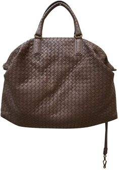 21c313f92d Leather tote BOTTEGA VENETA Brown