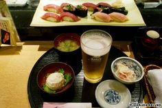 Sushi Zanmai originated in Tsukiji and it claims to be Japan's first 24-hour, 365-days-a-year sushi bar. I would die and be in heaven to visit this place. another for the bucket list :)