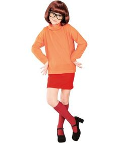 Scooby Doo Velma Girls Costume   KIDS