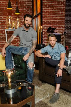 Adam and Ryan Tedder from One Republic