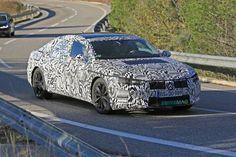 2017 VW Arteon Flaunts Camouflage-Drowned Body in Spain