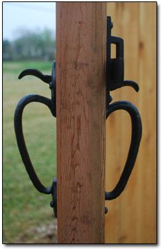 Great Bronze Gate Double Thumb Latch Wooden Fence Gate, Fence Gates, Garden Gates  And Fencing