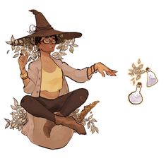 falaxy:  Witchsona week! My favorite time of the year! I never want to make a gif again :)