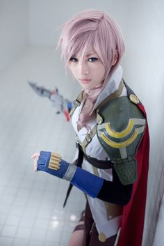Lightning | Final Fantasy XIII #game #cosplay