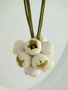 'In Bloom' February, 12 Polymer Clay Projects in 2013 by LillianPoly, via Flickr