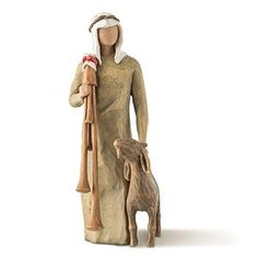 Purchase Zampognaro by Susan Lordi. Expressive sculpted figure is part of the Nativity Collection. As a Christmas gift, wedding gift or self-purchase, the Willow Tree Nativity is a family tradition. Willow Tree Nativity Set, Willow Tree Angels, Collectible Figurines, Family Traditions, Timeless Classic, Sculpting, Baby Gifts, Christmas Gifts, Christmas Tree