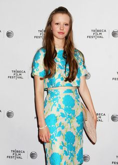 Mia Goth at the Tribeca Film Festival | Hair + Makeup by Jacqueline Cookson