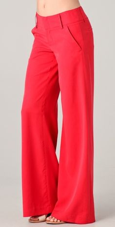 Wide Leg Pants and love the color