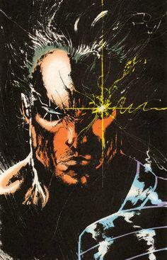 astonishingx: Cable by Jae Lee Comic Book Artists, Comic Book Characters, Comic Book Heroes, Comic Artist, Marvel Characters, Comic Character, Comic Books Art, Universe Art, Comics Universe