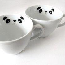 Stickers pandas pour céramique