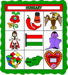 Fun children's crafts, including printable craft templates, for preschool, kindergarten and elementary school kids studying the country of Hungary. Preschool Projects, Art Activities For Kids, Budapest, Around The World Theme, Culture Day, Geography For Kids, Paper Quilt, World Thinking Day, Kids Study
