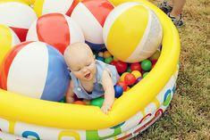 life with luke: Luke's 1st Birthday  cute activity