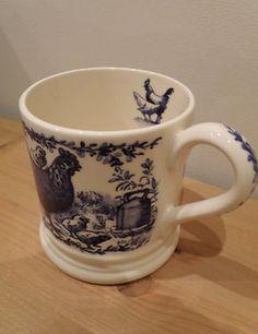 Emma Bridgewater Blue Hen 0.5 Pint Mug