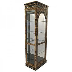 Lacquer Display Cabinet