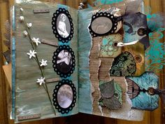 altered book - pages 17+18 by *carolion*, via Flickr