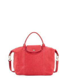 161d47ae3897 Le Pliage Cuir Handbag with Strap