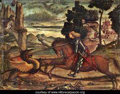 Vittore Carpaccio: St. George and the Dragon, 1516