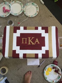 I am in a fraternity on campus called Pi Kappa Alpha. This is my new family for the rest of my life. Being in this frat has brought a bond of friendship and brotherhood I've never had before. By far the best decision I've made in college so far! Fraternity Crafts, Sorority And Fraternity, Sorority Paddles, Sorority Recruitment, Diy Cooler, Coolest Cooler, Formal Cooler Ideas, Cooler Connection, Amigurumi