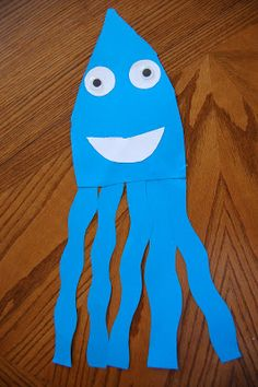 """I HEART CRAFTY THINGS: """"I'm the Biggest Thing in the Ocean"""" with Squid Activity"""
