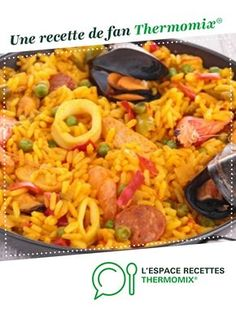 Italian Recipes 89295 Paella Express by A fan recipe to find in the Main dish - various category on www.fr, from Thermomix <sup> ® </sup>. Cooking Recipes For Dinner, Easy Cooking, Healthy Dinner Recipes, Appetizer Recipes, Meat Appetizers, Healthy Cooking, Vegetarian Italian Recipes, Meat Recipes, Chicken Recipes