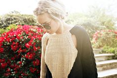 Lovely summer knit with interesting details