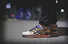 "UBIQ x Asics Gel Lyte V ""Midnight Bloom"""