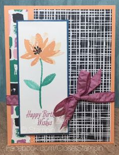 Avant Garden and Playful Palette by SU for TSOT. Closet Stampin With Jayme Ziemer. closetstampin.com
