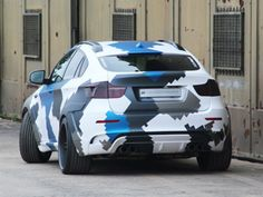 """Widebody kit """"STEALTH"""" available for BMW Vehicle width will rise by centimeters. This bodykit let the BMW become a reas monst… Bmw X Series, Country Trucks, Big Boyz, Gym Logo, Bmw X6, Custom Paint Jobs, Audi Q7, Luxury Suv, Car Wrap"""