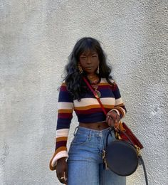 Baddie Outfits Casual, Style Outfits, Cute Casual Outfits, Girl Outfits, Fashion Outfits, Outfits For Black Girls, Black Women Fashion, Look Fashion, Black Women Style
