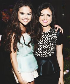 lucy hale and selena gomez - Google Search