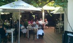 Christina's cool outside shaded tables Farms, Wines, South Africa, Trip Advisor, Westerns, Tables, Van, African, Lovers