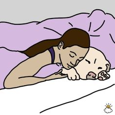 The Way You Snooze With Your Pet Reveals Everything About Your Relationship