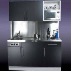 Compact kitchen wall