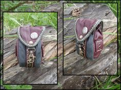Pouch by LeatherCraft.deviantart.com on @deviantART