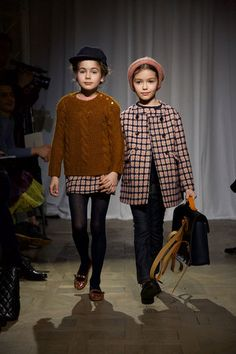 Bonpoint kids fashion show