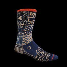 Kapital - Cuba African Sock in Navy