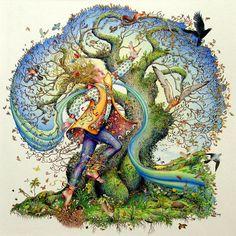 Магические свойства деревьев. - МирТесен